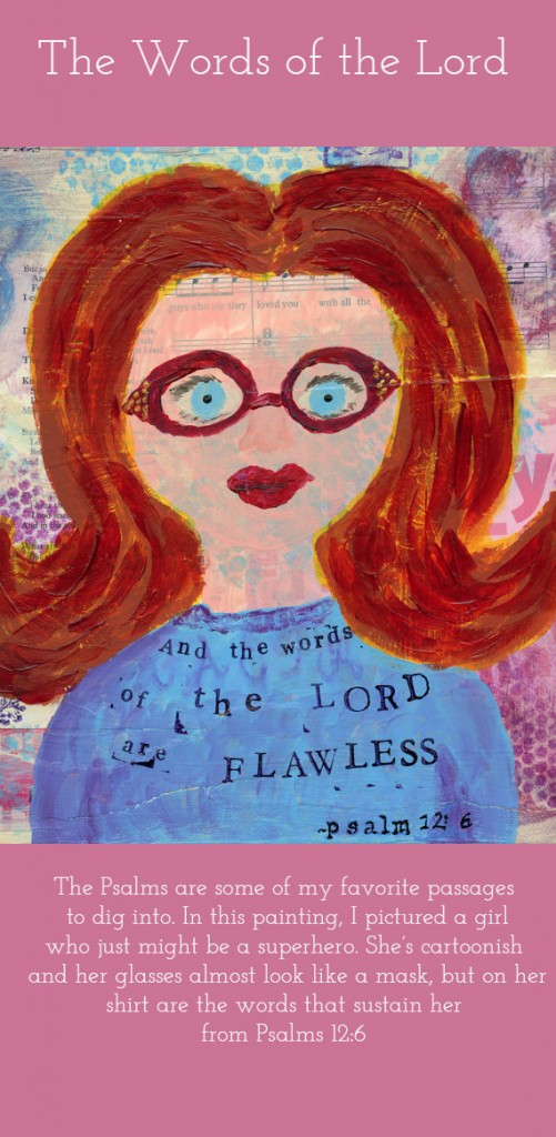 And the Words of the Lord-painting
