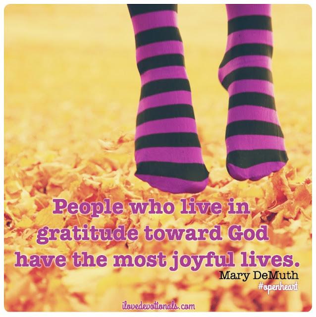 Joyful lives