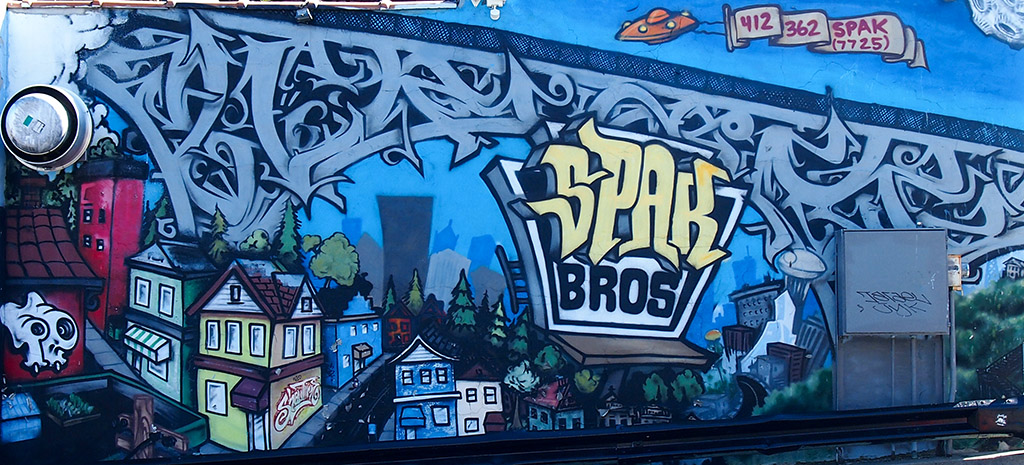 Spak Brothers Restaurant Mural