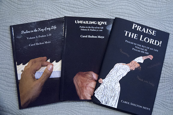 Thee Volumes of Psalms in the Key of my  life series